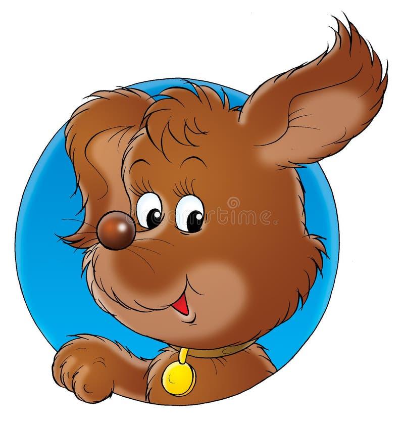 σκυλί 001 μου διανυσματική απεικόνιση