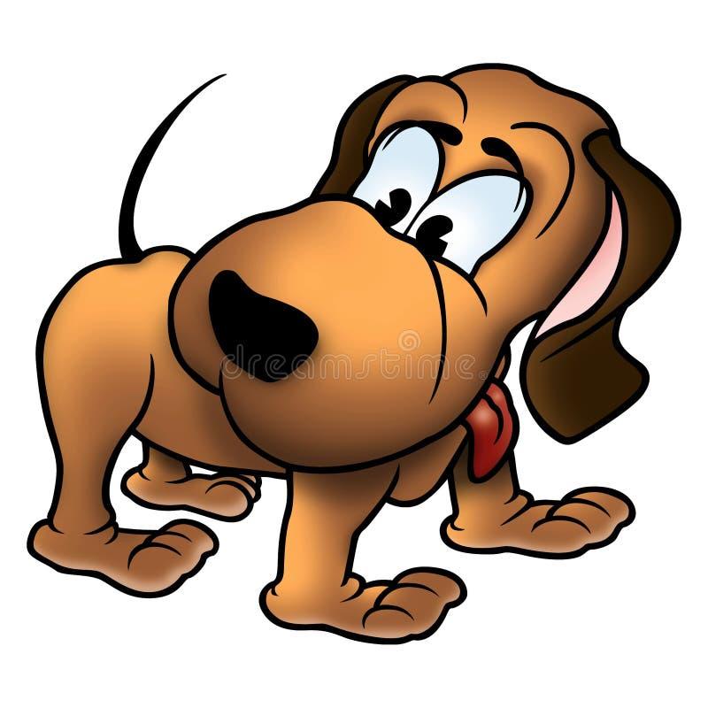 σκυλί Andy διανυσματική απεικόνιση