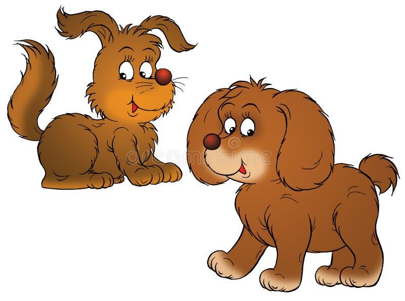σκυλιά ελεύθερη απεικόνιση δικαιώματος