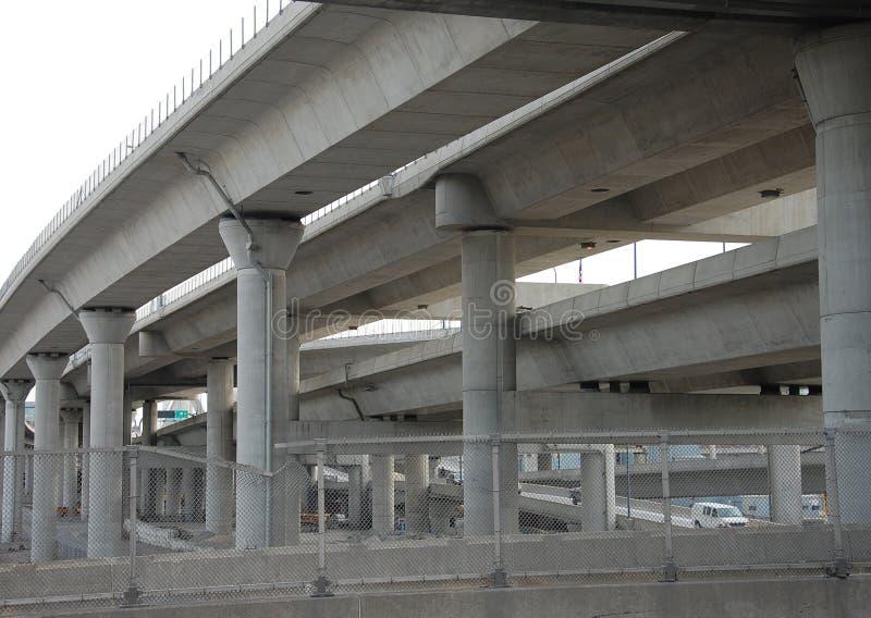 σκυρόδεμα γεφυρών στοκ εικόνες με δικαίωμα ελεύθερης χρήσης