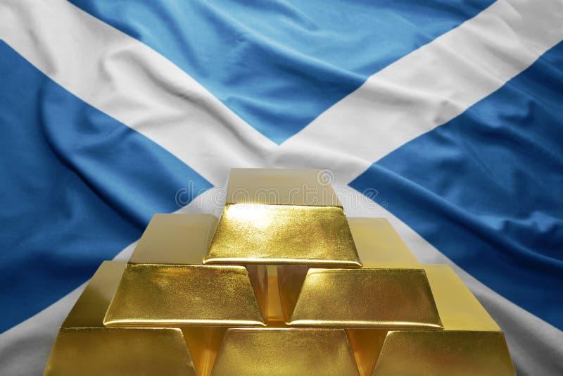 Σκωτσέζικες χρυσές επιφυλάξεις στοκ φωτογραφίες με δικαίωμα ελεύθερης χρήσης