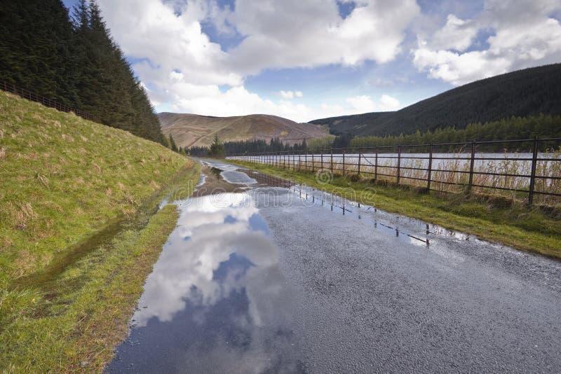 Σκωτσέζικη εθνική οδός στοκ φωτογραφίες