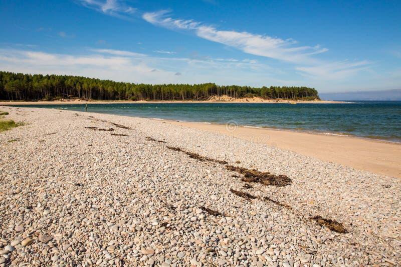 Σκωτσέζικη παραλία στοκ φωτογραφίες με δικαίωμα ελεύθερης χρήσης