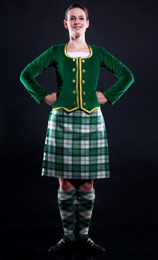 σκωτσέζικη φούστα κοριτ&sig στοκ φωτογραφίες με δικαίωμα ελεύθερης χρήσης