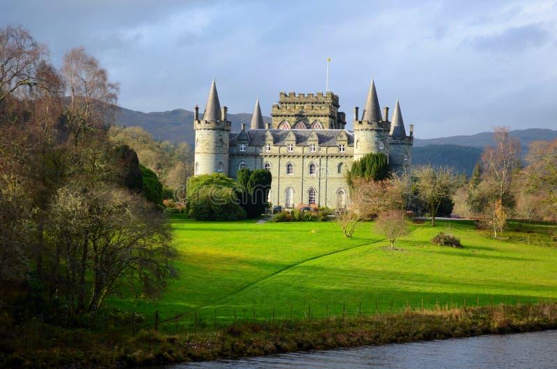 Σκωτσέζικο κάστρο στοκ φωτογραφία