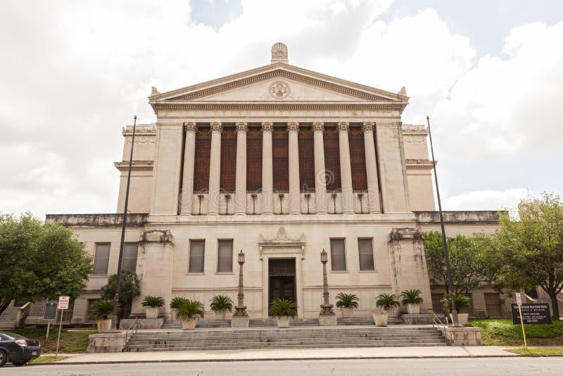 Σκωτσέζικο μουσείο ιεροτελεστίας του San Antonio, Τέξας στοκ φωτογραφία