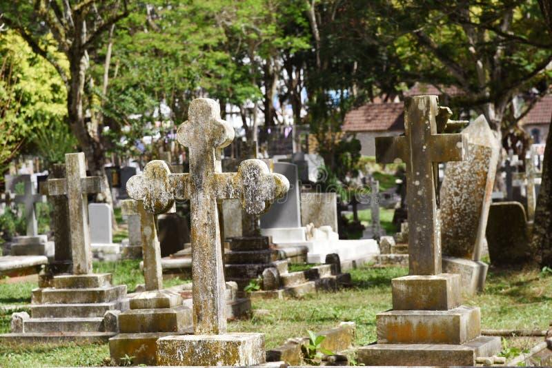 Σκωτσέζικο νεκροταφείο στοκ φωτογραφίες