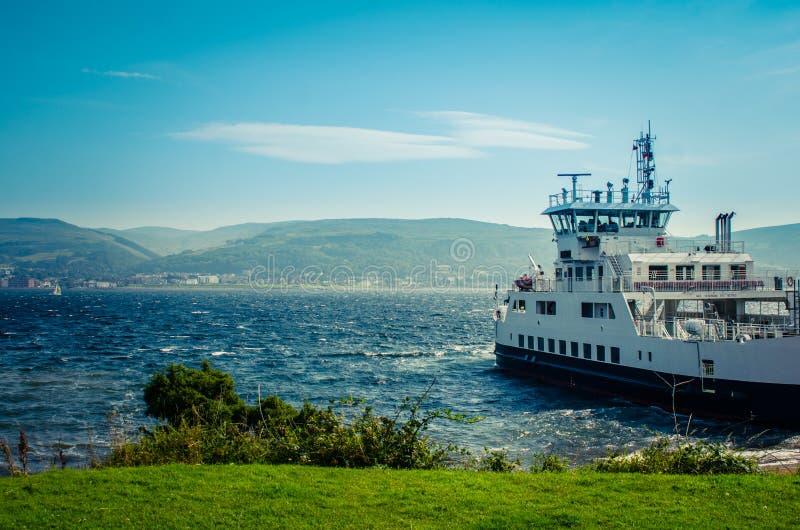 Σκωτσέζικο πορθμείο νησιών στοκ φωτογραφία με δικαίωμα ελεύθερης χρήσης