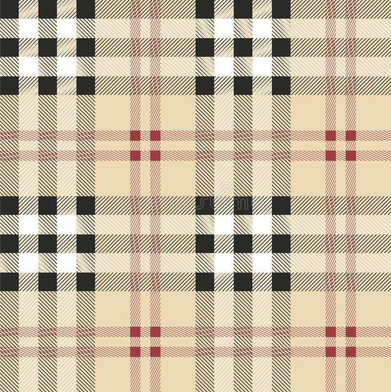 Σκωτσέζικο σχέδιο υφάσματος διανυσματική απεικόνιση