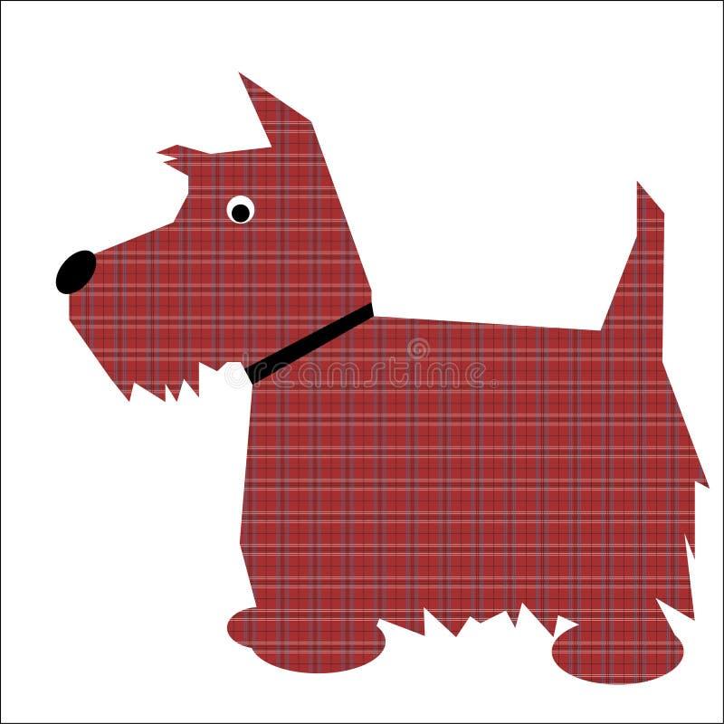 σκωτσέζικο τεριέ σκυλιώ&n διανυσματική απεικόνιση