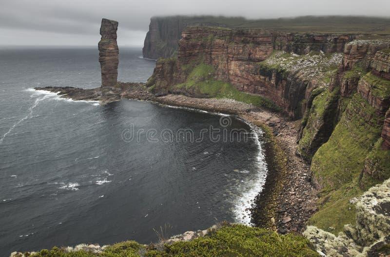 Σκωτσέζικο τοπίο Orkney Ηληκιωμένος Hoy Σκωτία στοκ φωτογραφίες με δικαίωμα ελεύθερης χρήσης