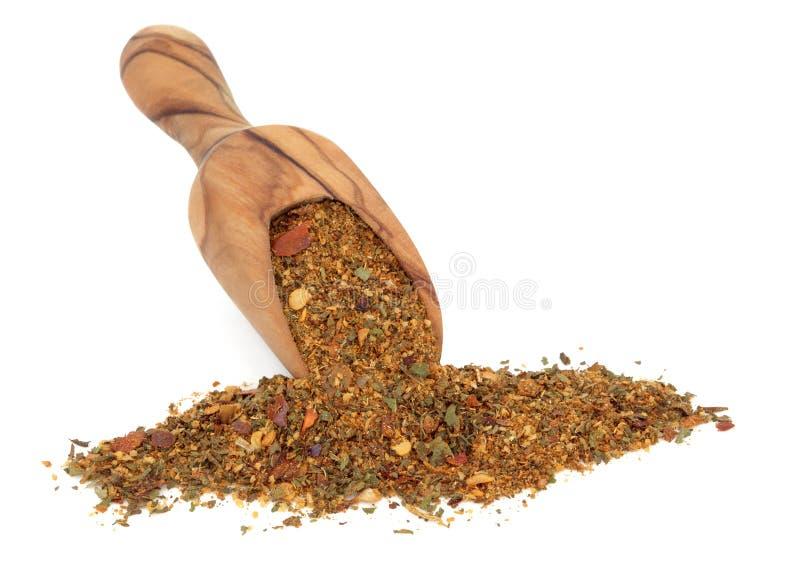 Σκόνη καρυκευμάτων Harissa στοκ εικόνες με δικαίωμα ελεύθερης χρήσης
