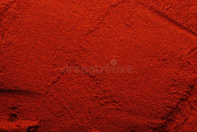 σκόνη πάπρικας ανασκόπησης στοκ εικόνα