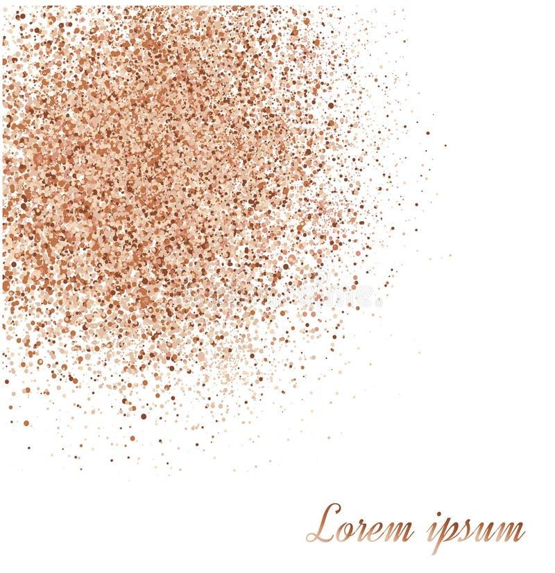Σκόνη σε ένα άσπρο υπόβαθρο διανυσματική απεικόνιση