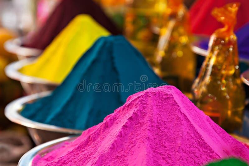 Σκόνη χρώματος στοκ εικόνες με δικαίωμα ελεύθερης χρήσης