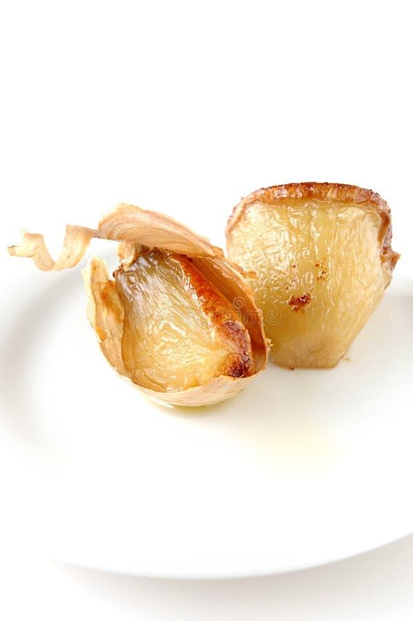 σκόρδο που ψήνεται στοκ φωτογραφία με δικαίωμα ελεύθερης χρήσης