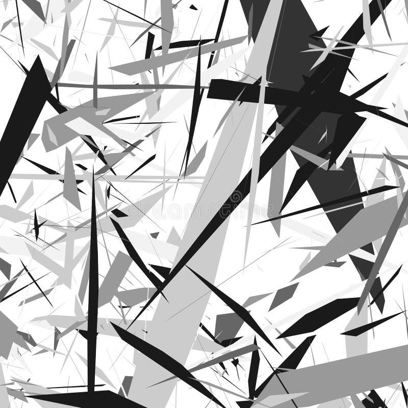 Σκληρή τραχιά σύσταση Γεωμετρική αφηρημένη απεικόνιση με το disarr διανυσματική απεικόνιση
