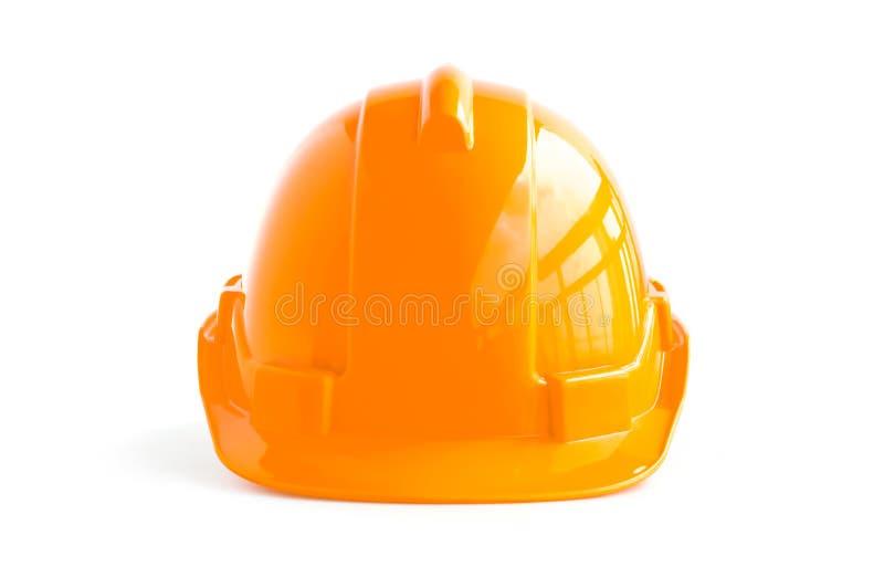 Σκληρό καπέλο για τους βιομηχανικούς εργάτες, τους μηχανικούς & τον αρχιτέκτονα στοκ φωτογραφία