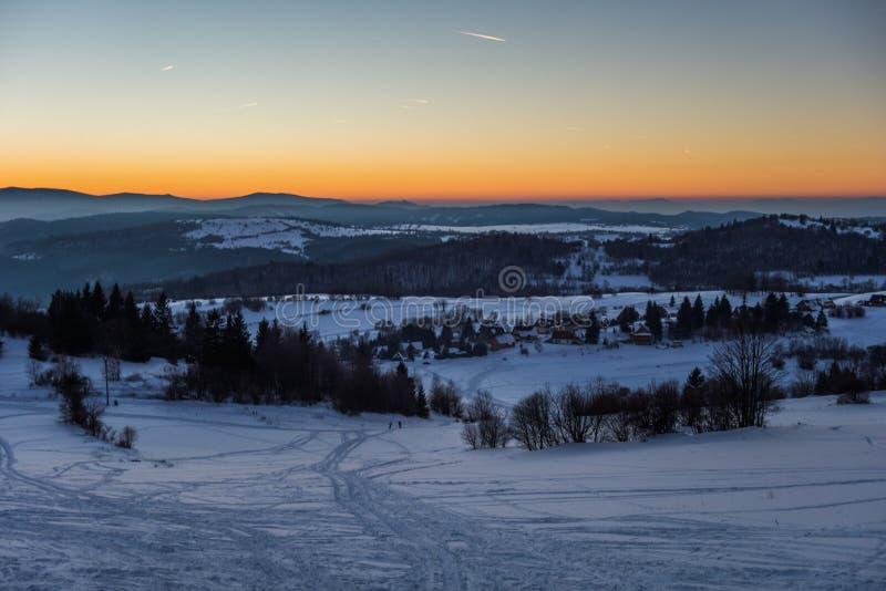 Σλοβάκικα τοπία στοκ φωτογραφίες