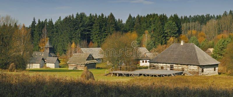 σλοβάκικο χωριό μουσεί&omeg στοκ εικόνες