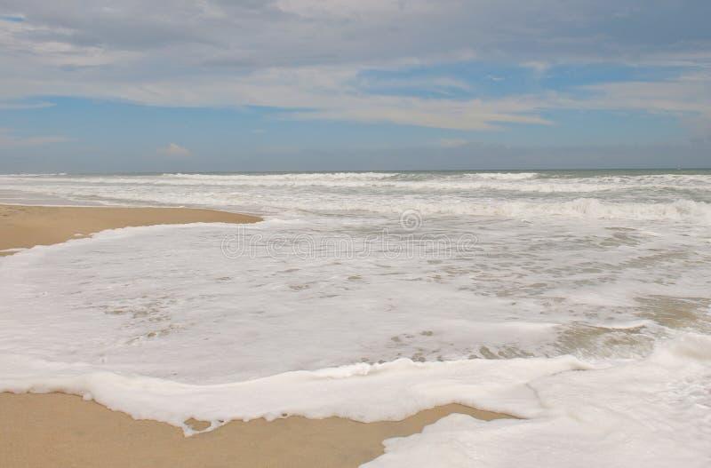 Σμαραγδένια κυματωγή της βόρειας Καρολίνας νησιών στοκ εικόνες