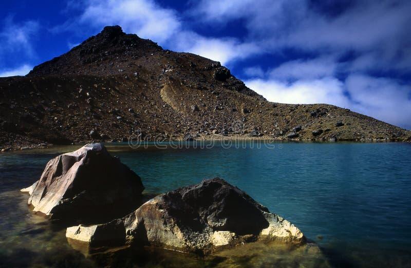 σμαραγδένιες λίμνες στοκ εικόνες