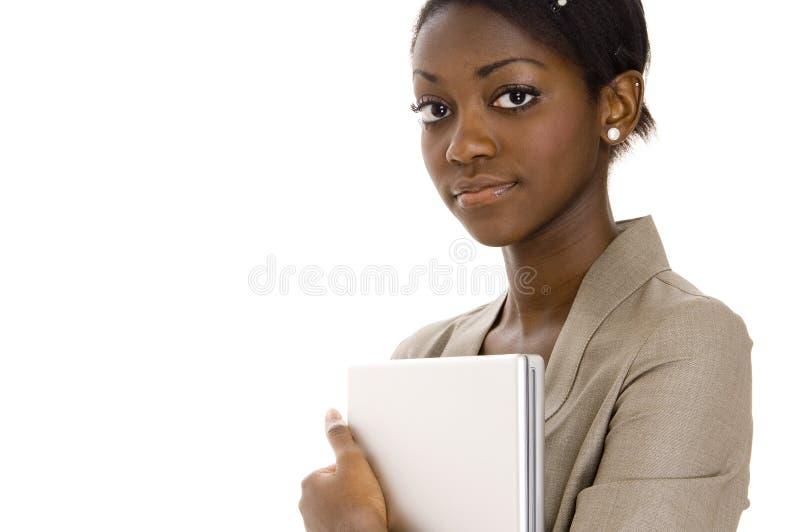 σοβαρές νεολαίες γυνα&io στοκ εικόνα με δικαίωμα ελεύθερης χρήσης