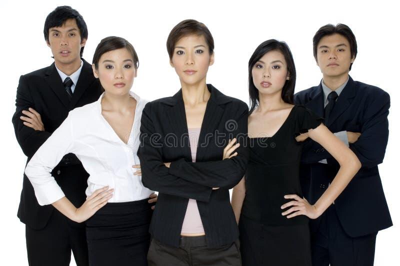 Σοβαρή επιχειρησιακή ομάδα στοκ φωτογραφία