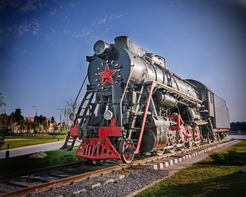Σοβιετική ατμομηχανή στοκ φωτογραφία με δικαίωμα ελεύθερης χρήσης