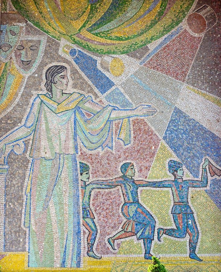 Σοβιετική τέχνη στοκ εικόνα με δικαίωμα ελεύθερης χρήσης