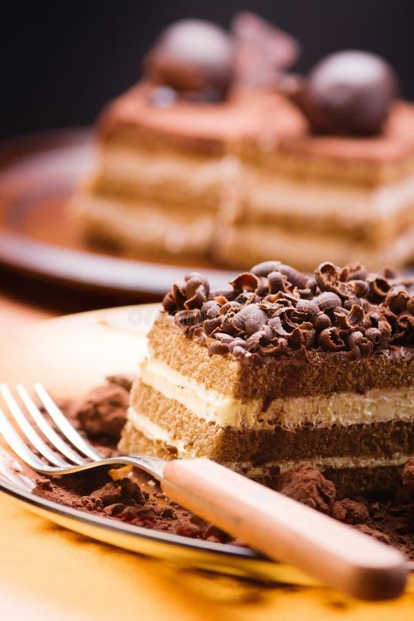 σοκολάτα κέικ στοκ φωτογραφία με δικαίωμα ελεύθερης χρήσης