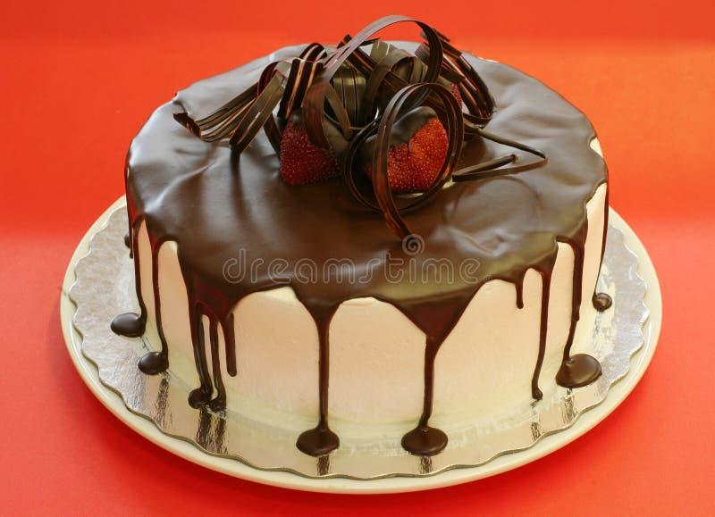 σοκολάτα κέικ στοκ φωτογραφία