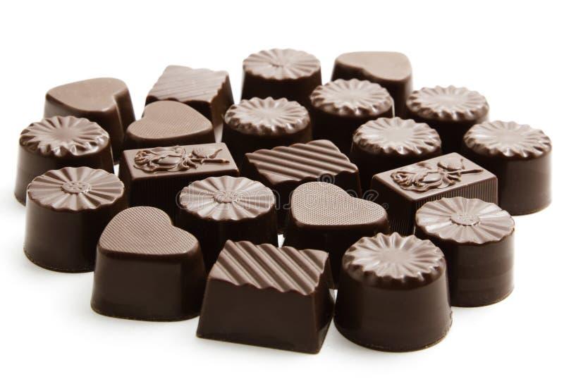 σοκολάτα καραμελών στοκ φωτογραφίες