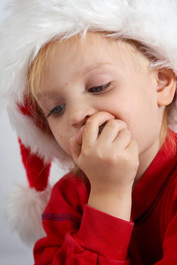 σοκολάτα λίγο santa στοκ εικόνες με δικαίωμα ελεύθερης χρήσης