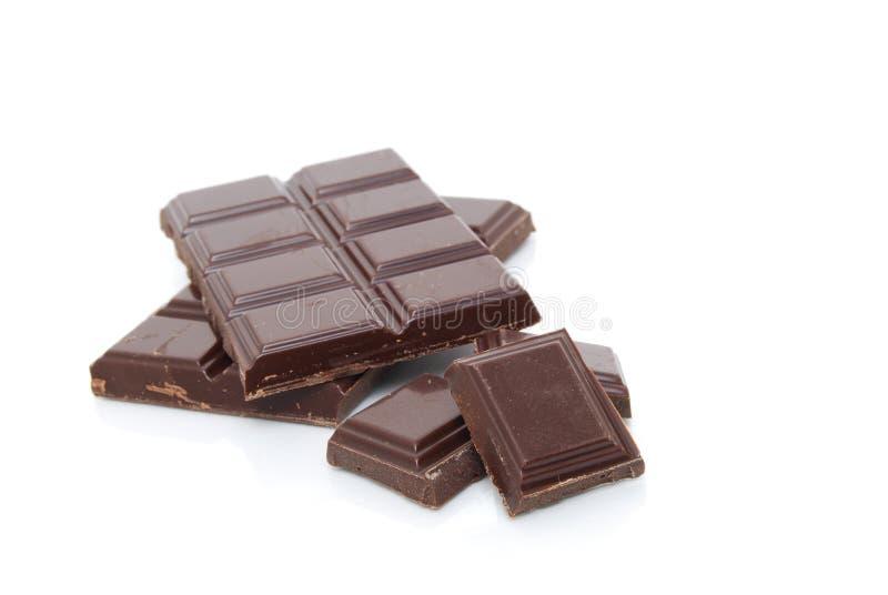 σοκολάτα μερικοί στοκ εικόνα