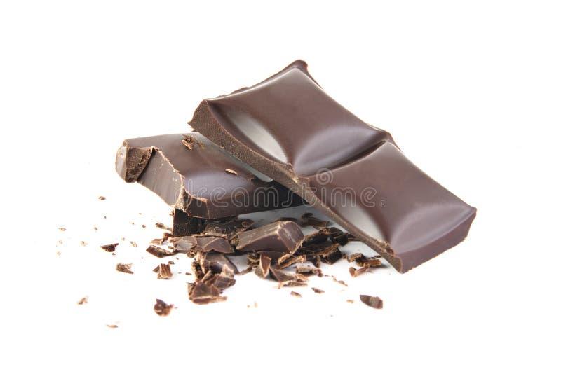 σοκολάτα που συντρίβετ&a στοκ εικόνα με δικαίωμα ελεύθερης χρήσης