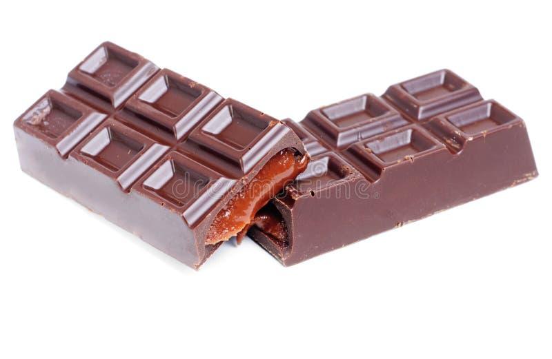 σοκολάτα ράβδων στοκ εικόνες