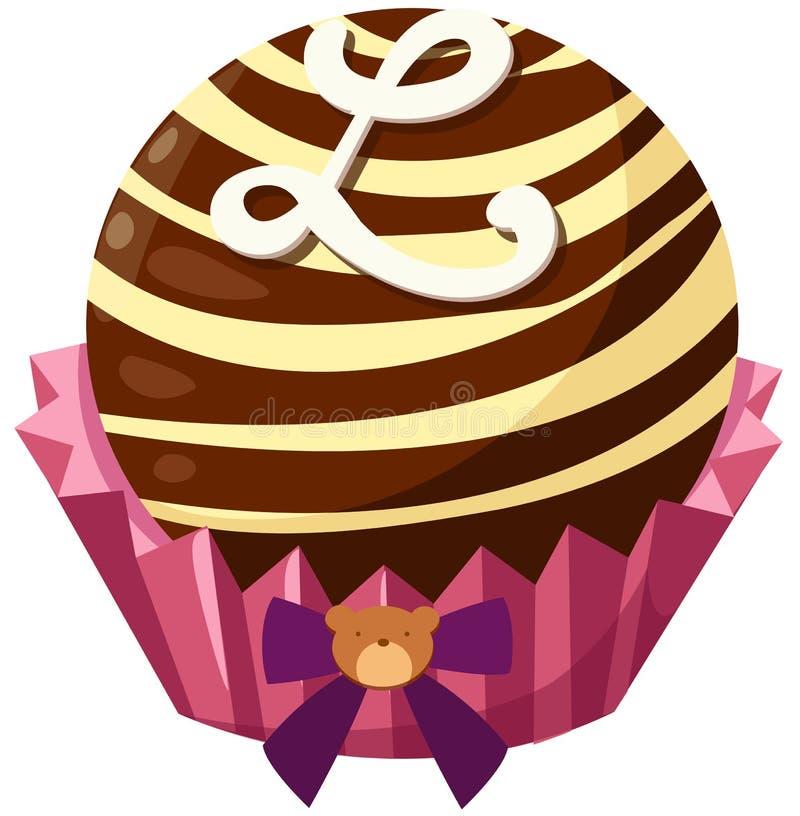 Download σοκολάτα σφαιρών διανυσματική απεικόνιση. εικονογραφία από εικονίδιο - 22784139