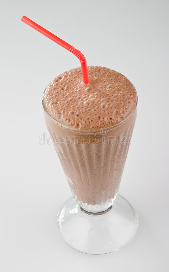 σοκολάτα milkshake στοκ φωτογραφία με δικαίωμα ελεύθερης χρήσης
