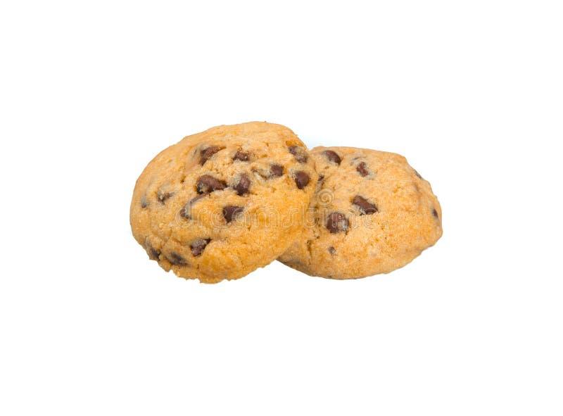 Σοκολάτα γύρω από το μπισκότο στοκ φωτογραφίες