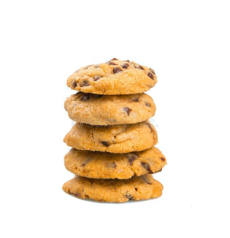Σοκολάτα γύρω από το μπισκότο στοκ φωτογραφίες με δικαίωμα ελεύθερης χρήσης