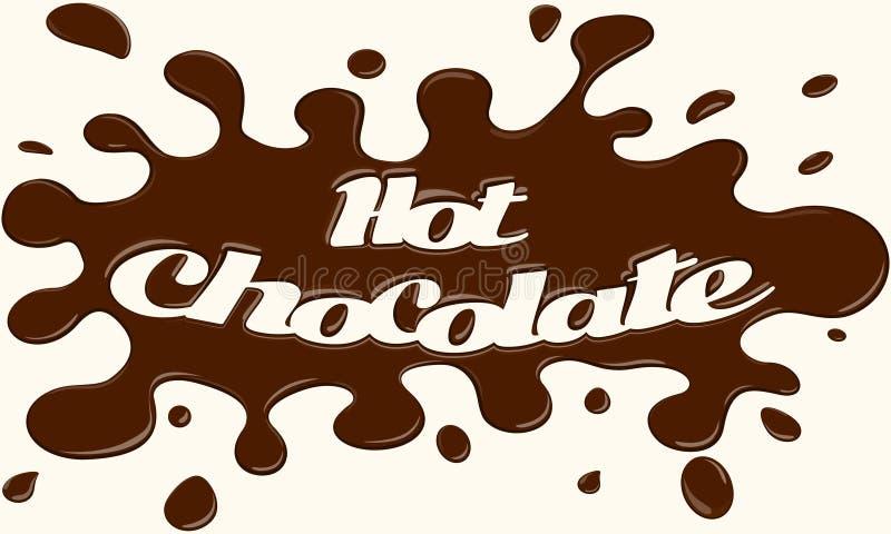 σοκολάτα καυτή ελεύθερη απεικόνιση δικαιώματος