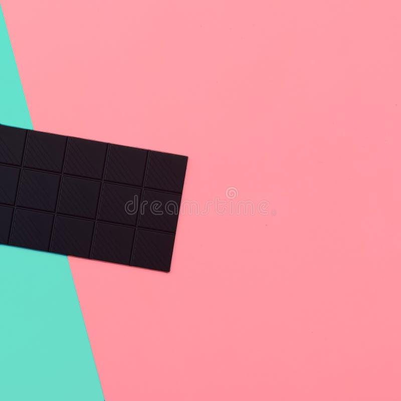 Σοκολάτα μόδας Ελάχιστο ύφος βανίλιας στοκ φωτογραφίες με δικαίωμα ελεύθερης χρήσης
