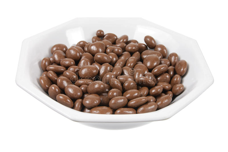 Σοκολάτα σταφίδων και καρυδιών στοκ εικόνες