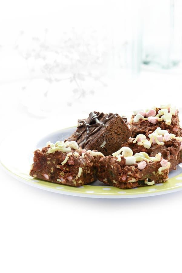 Σοκολάτα Brownies ΙΙ στοκ εικόνες με δικαίωμα ελεύθερης χρήσης