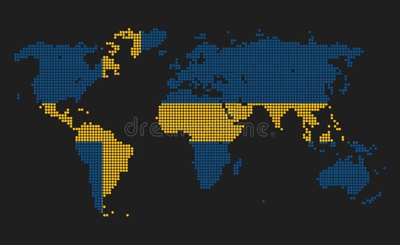 Σουηδία διανυσματική απεικόνιση