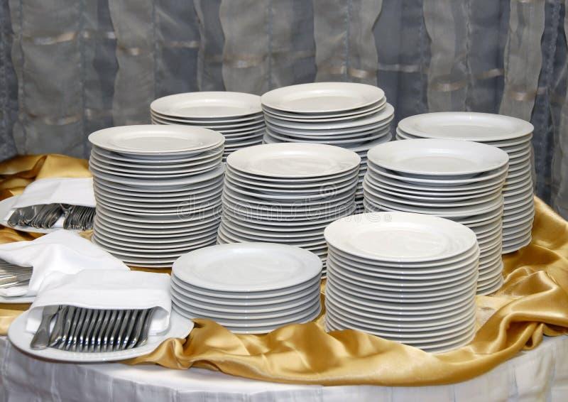 σουηδικό επιτραπέζιο επιτραπέζιο σκεύος στοκ φωτογραφία με δικαίωμα ελεύθερης χρήσης