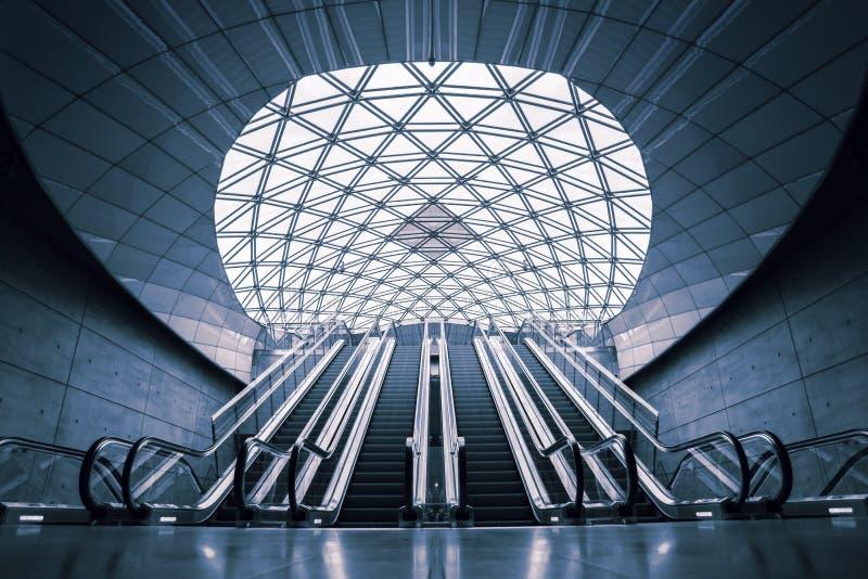 Σουηδικός σταθμός τρένου του Μάλμοε Triangeln στοκ εικόνα