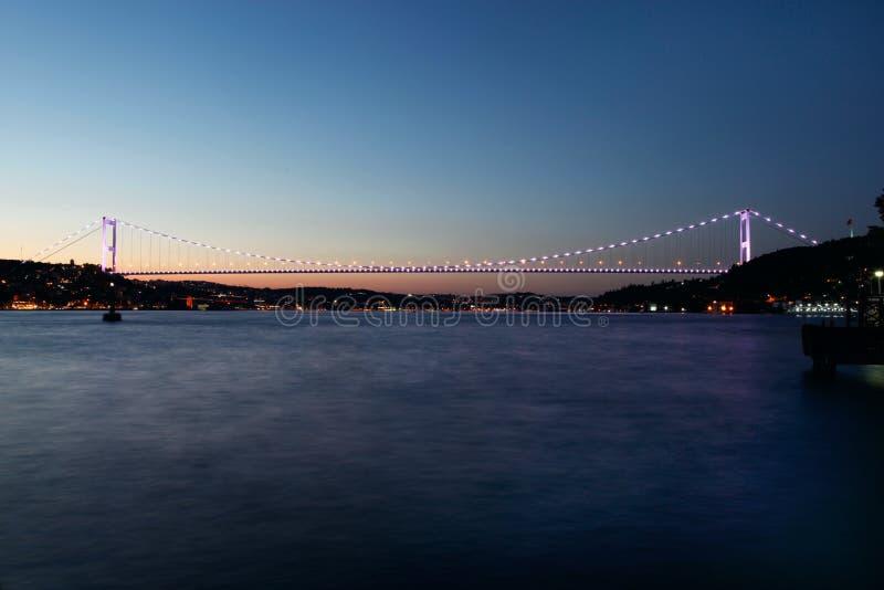 Σουλτάνος Mehmet Bridge Fatih στοκ εικόνες με δικαίωμα ελεύθερης χρήσης