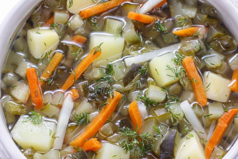 Σουπιέρα της σούπας στοκ εικόνα